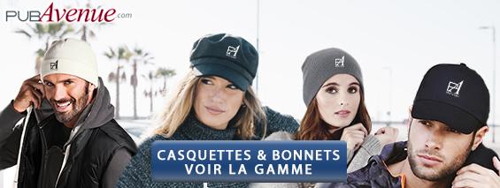 Casquettes bonnets personnalisés