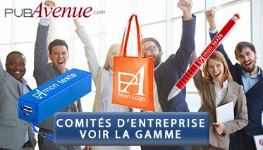 Goodies personnalisés pour comités d'entreprises