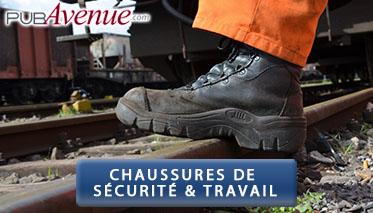 Chaussures de sécurité professionneles