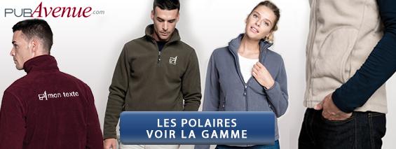 Vêtements polaire personnalisés
