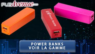 Power-banks personnalisés
