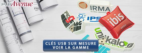 Clés USB personnalisées sur mesure