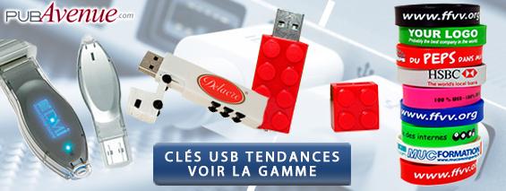 Clés USB personnalisées tendance