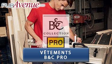 Vêtements personnalisés B&C pro