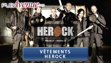 Vêtements personnalisables Herock