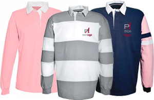 Polos rugby à personnaliser