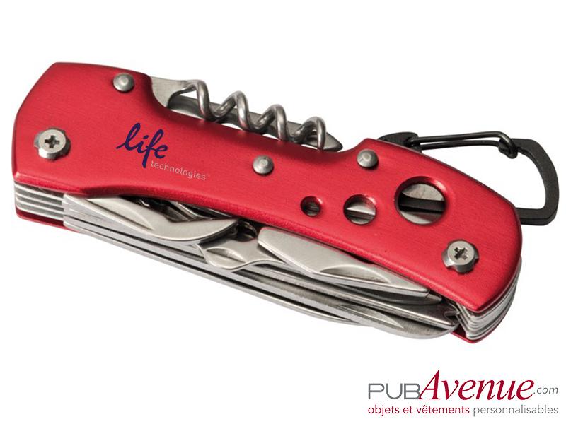 Couteau personnalisable 12 fonctions