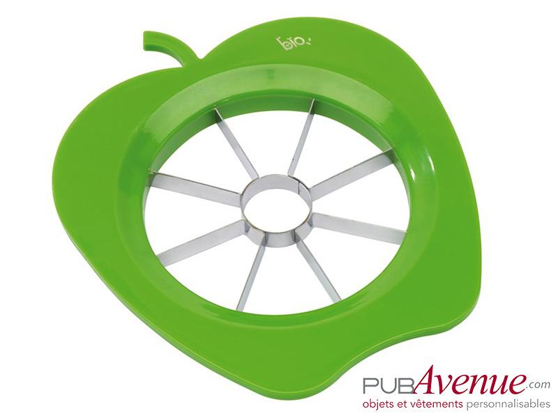 Découpe pomme trancheur fruit personnalisé