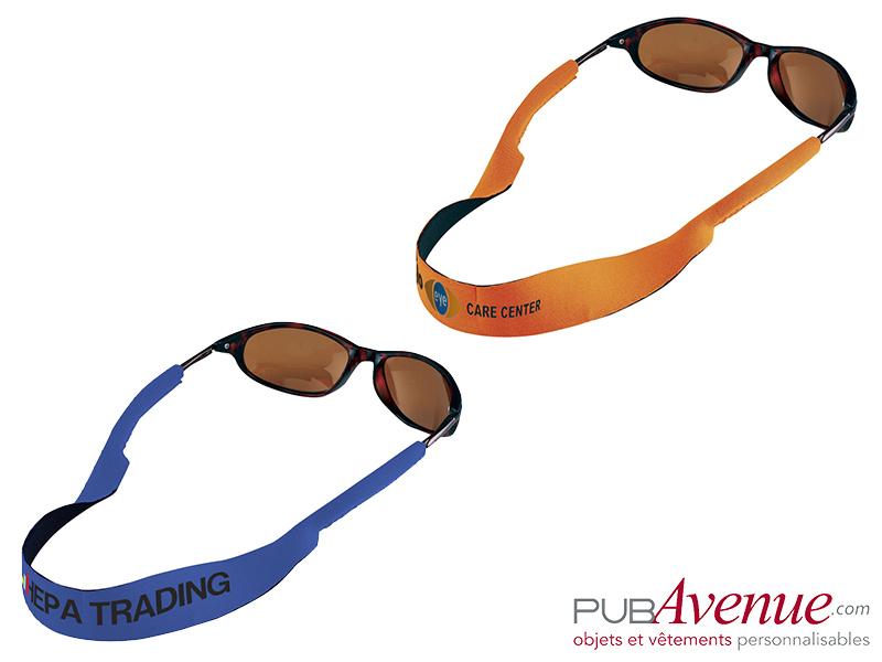 Sangle pour lunettes de soleil personnalisée