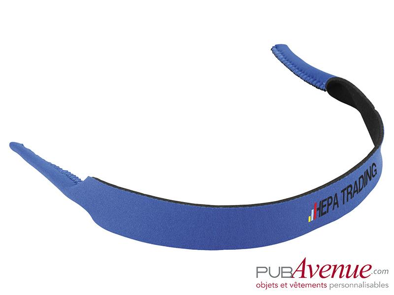 Sangle personnalisable pour lunettes de soleil