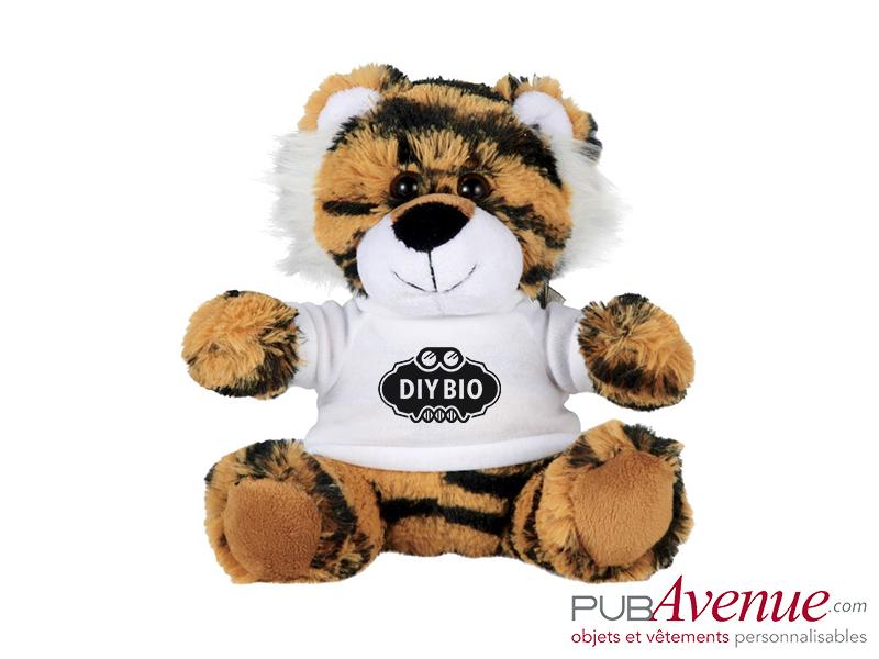 Peluche personnalisée tigre