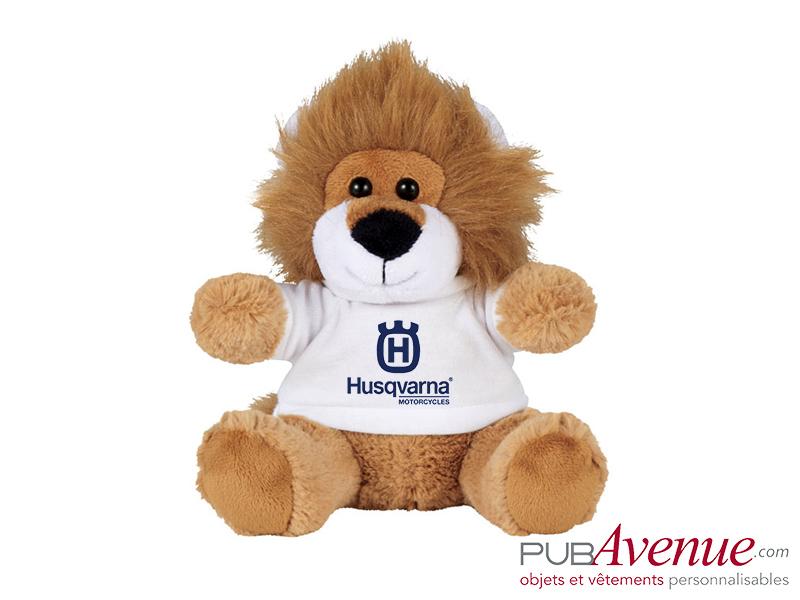 Peluche personnalisée lion