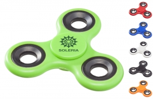 Toupie anti stress hand spinner personnalisable