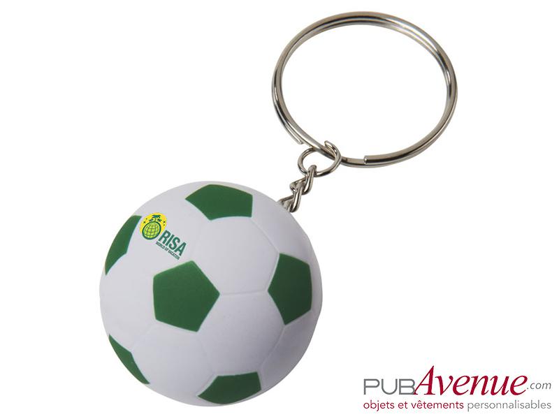 Porte-clés publicitaire ballon de foot
