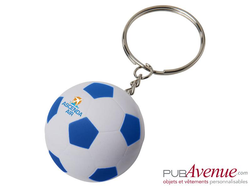 Porte-clés ballon de foot personnalisé