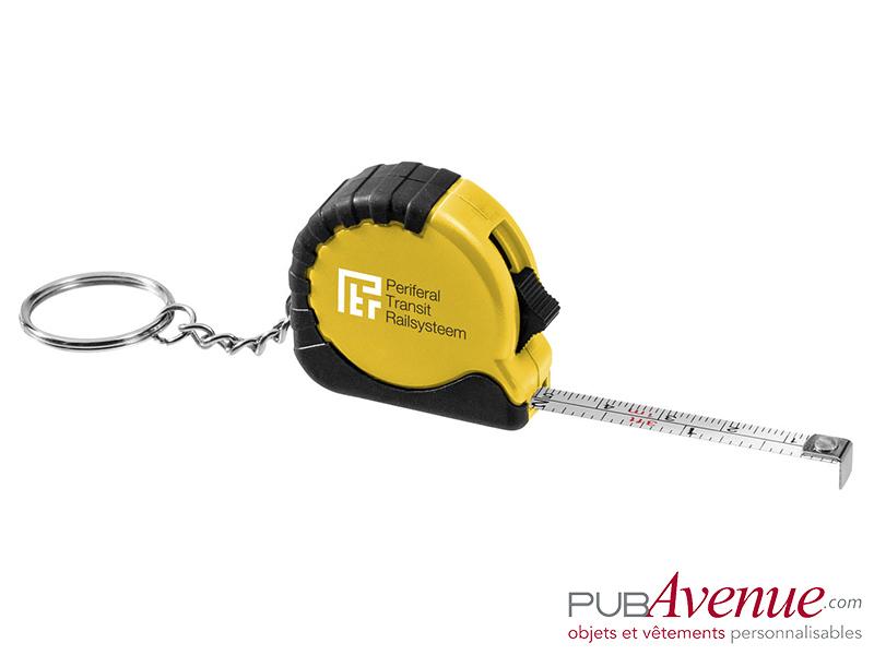 Mètre porte-clés 1m personnalisé