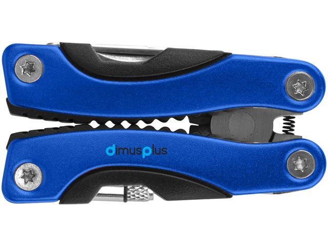 pince multifonction personnalisée bleue