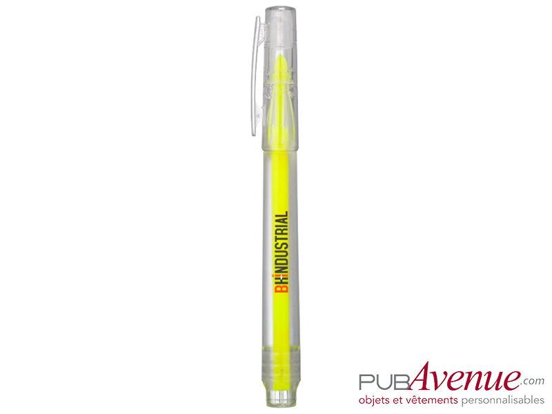 Feutre fluo marqueur personnalisé