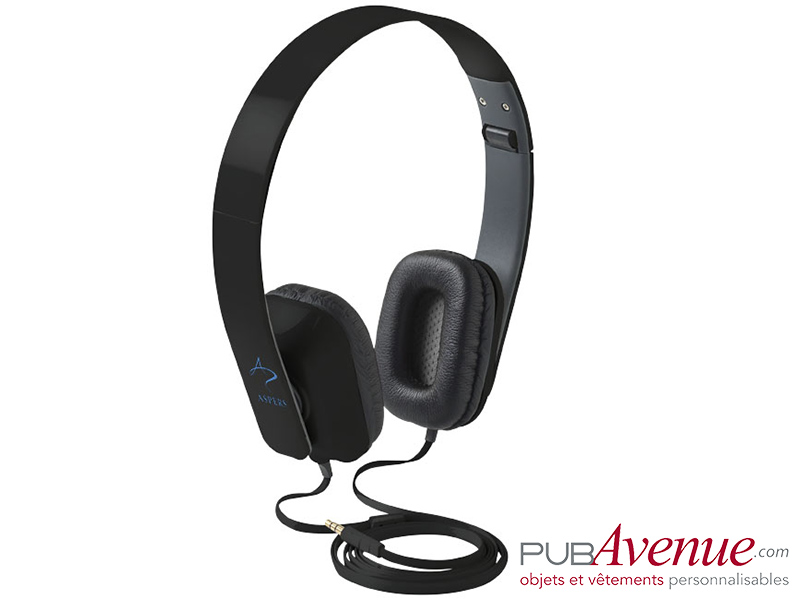 Casque pliable audio personnalisable