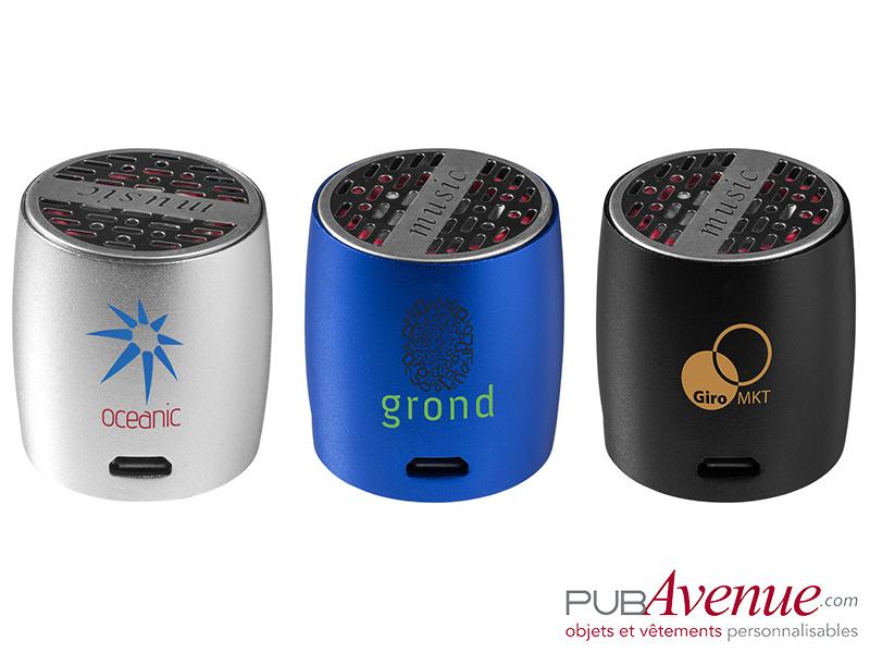 Haut-parleur personnalisable compact
