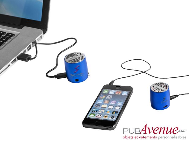 Haut-parleur compact personnalisable