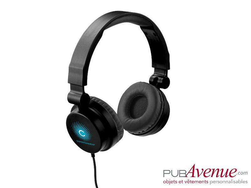 Casque audio personnalisé réglable