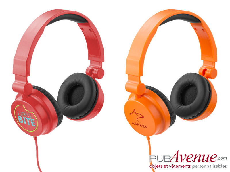 Casque audio réglable personnalisable