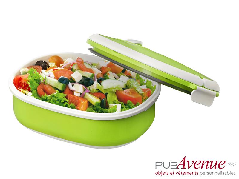 Boîte repas lunch box publicitaire