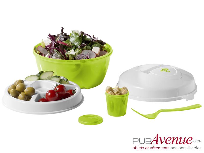 Boîte repas lunch box salades publicitaire