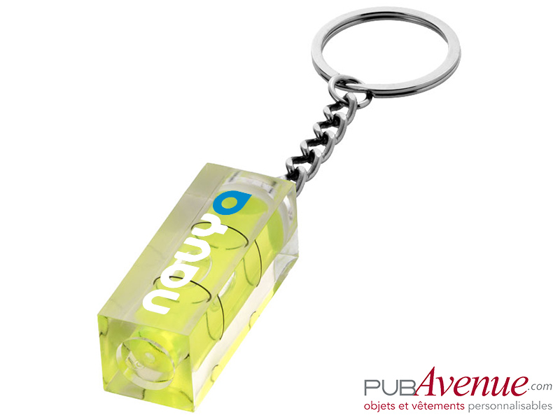 Porte-clés niveau personnalisable