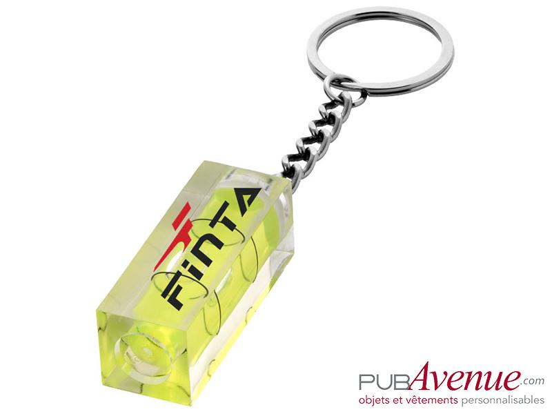 Porte-clés personnalisé niveau