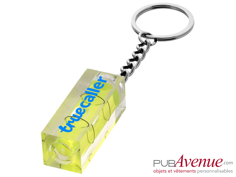 Porte-clés niveau personnalisé