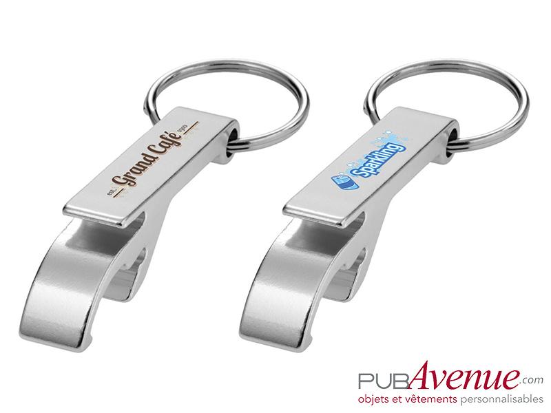 Porte-clés personnalisé décapsuleur