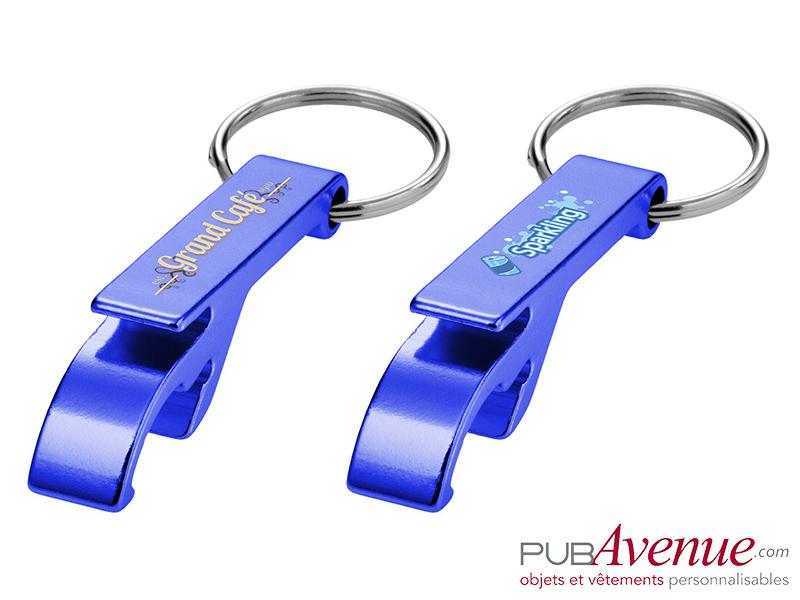Porte-clés personnalisable décapsuleur