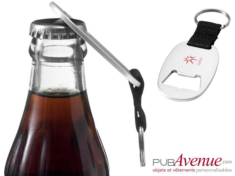 Porte-clés ouvre-bouteilles personnalisable