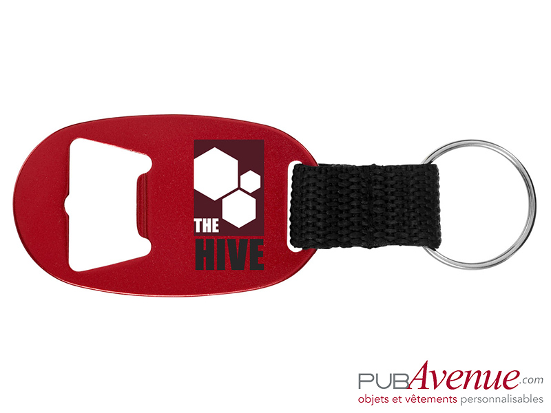 Porte-clés personnalisé ouvre-bouteilles