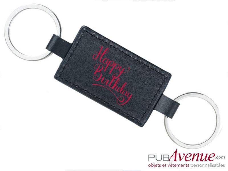 Porte-clés personnalisé anniversaire