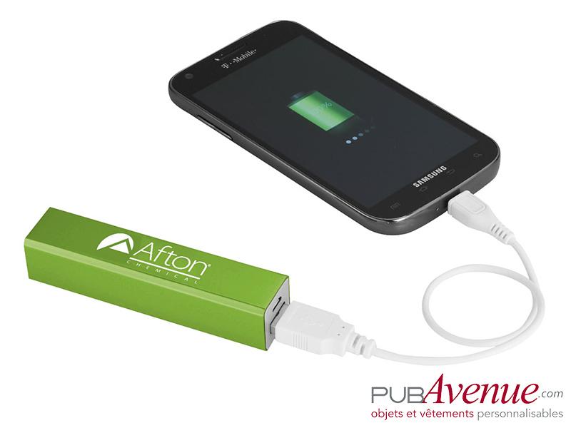 Batterie externe personnalisable 2200mAh