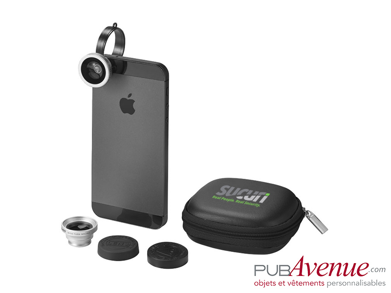 Kit objectifs photo Smartphone personnalisables