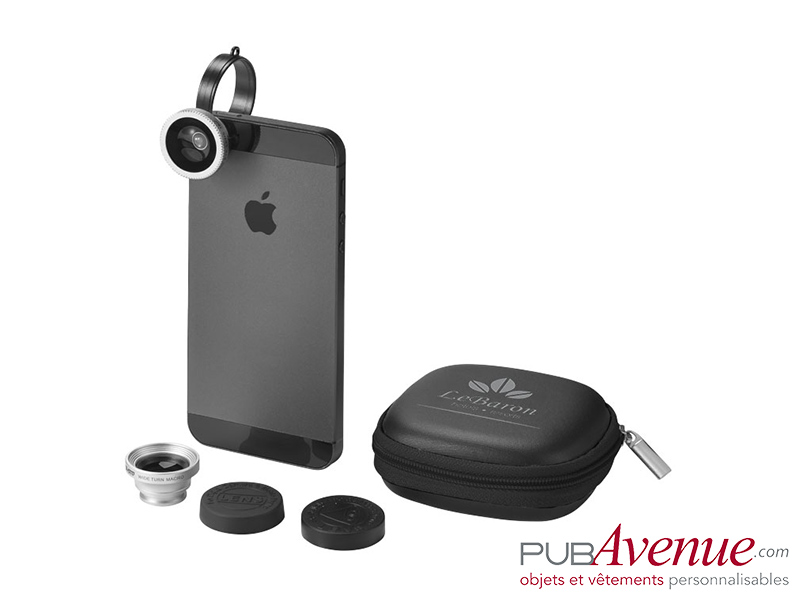 Kit objectifs personnalisables photo Smartphone