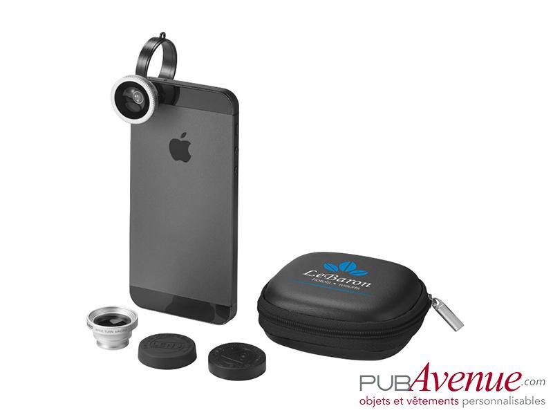 Kit objectifs personnalisés photo Smartphone