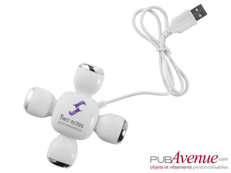 Hub flexible personnalisé 4 ports USB