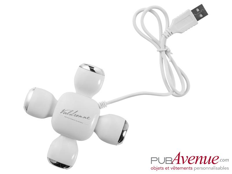 Hub flexible 4 ports USB personnalisé