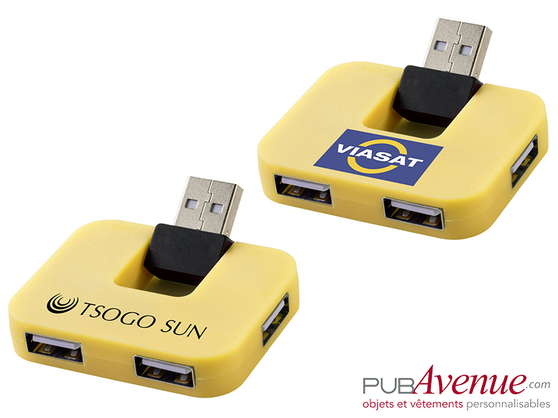 Hub USB personnalisable 4 ports