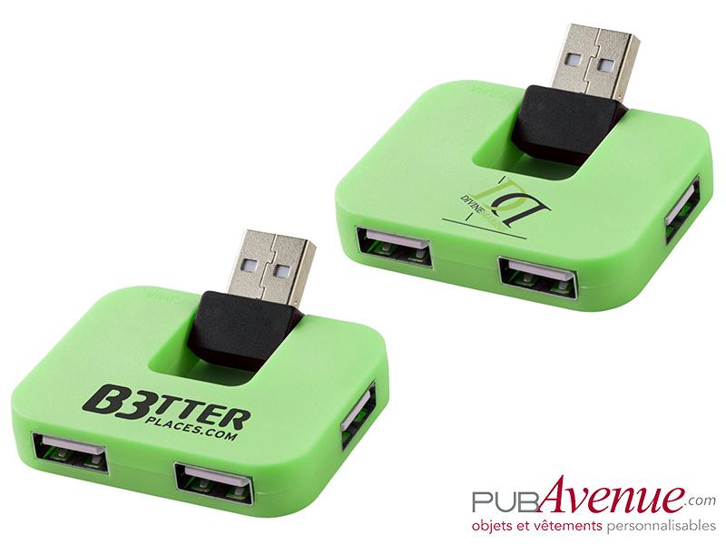 Hub USB publicitaire 4 ports
