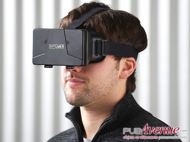 Casque lunettes publicitaire réalité virtuelle