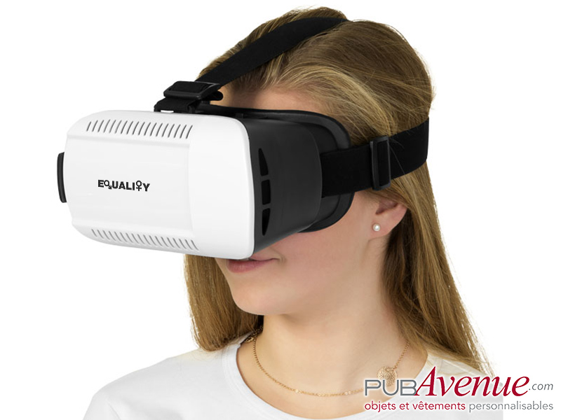 Casque publicitaire réalité virtuelle