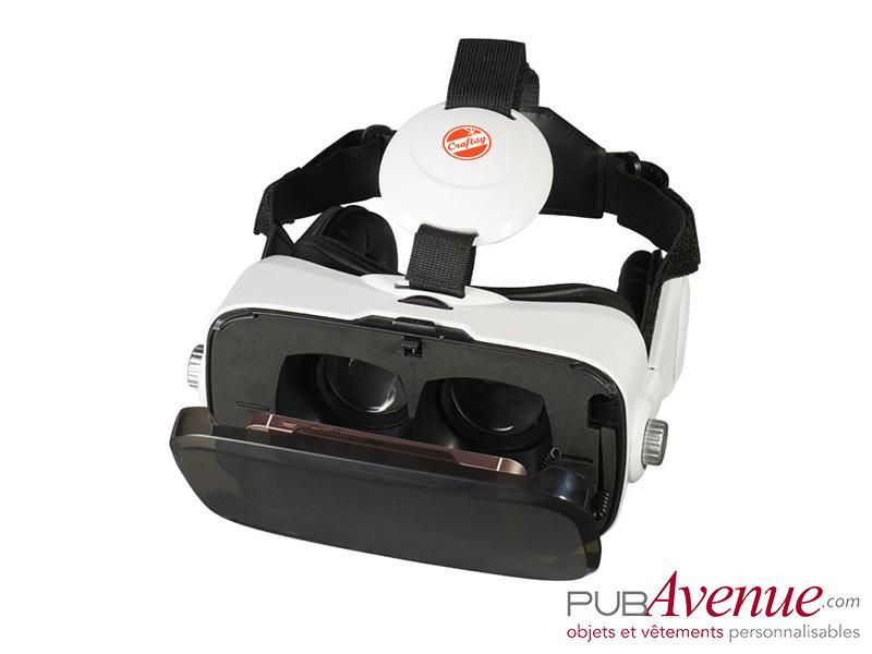 Casque intégré personnalisé de réalité virtuelle