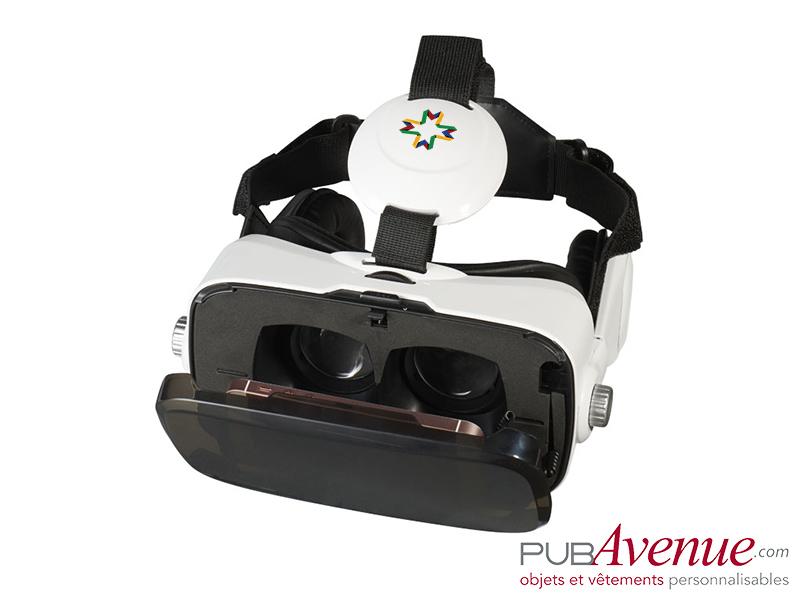 Casque intégré de réalité virtuelle personnalisable