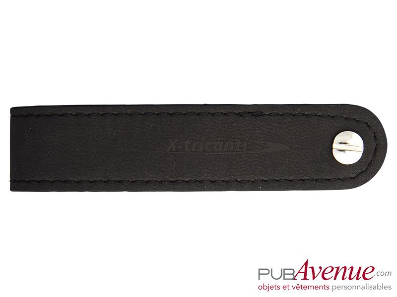 Porte-clés personnalisable cuir
